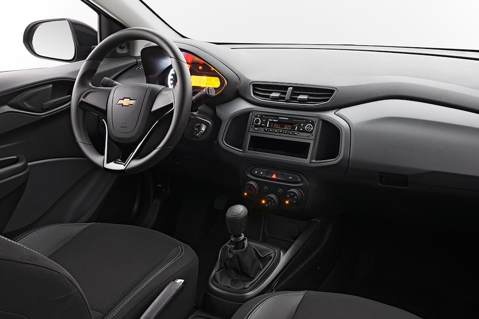 Chevrolet Joy Plus - Interior de tu Sedan Familiar