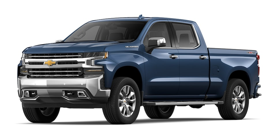 Chevrolet Silverado - Camioneta Pick Up Azul