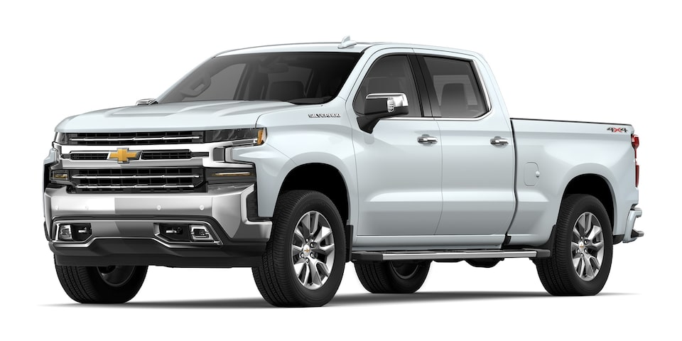 Chevrolet Silverado - Camioneta Pick Up Blanco
