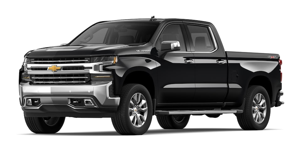 Chevrolet Silverado - Camioneta Pick Up Negro