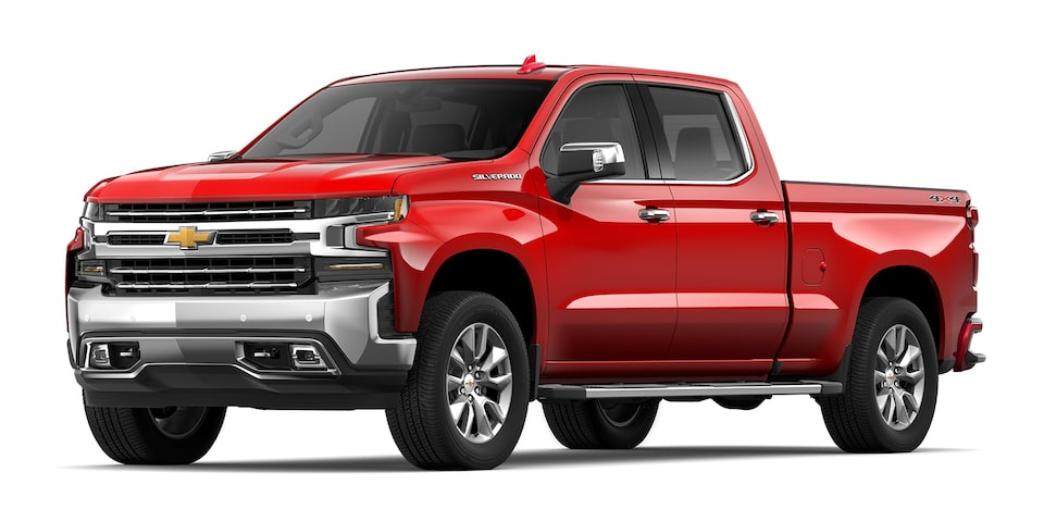 Chevrolet Silverado - Camioneta Pick Up Rojo